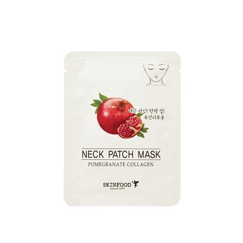 Skin Food Pomegranate Collagen Neck Patch Mask 2 Packs