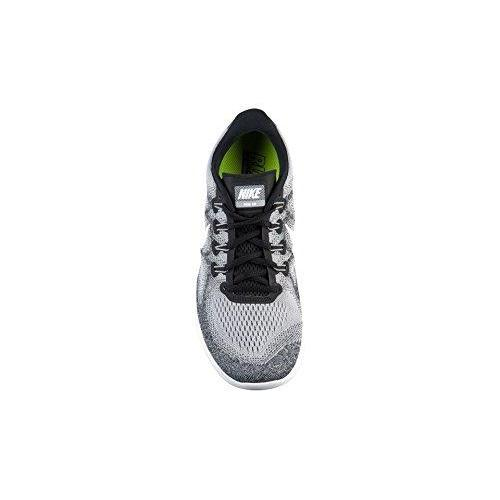NIKE WMNS Free RN 2017 LE Running White/White -Black (10 Womens) Shoes for Women NIKE