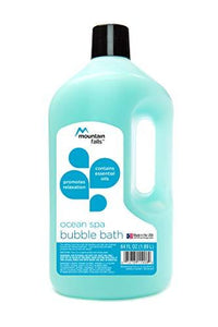 Mountain Falls Bubble Bath with Essential Oils, Ocean Spa, 64 Fluid Ounce (Pack of 3)