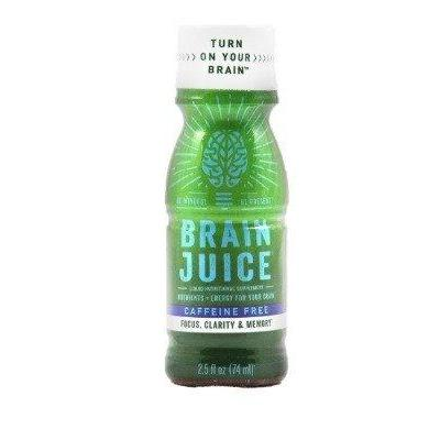 Caffeine Free Brain Juice Brain Juice 2.5 oz Liquid Food & Drink BrainJuice