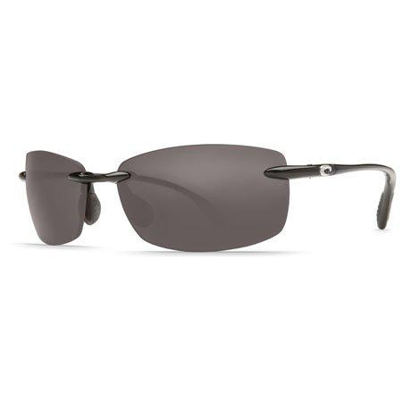Costa Del Mar Ballast Polarized Sunglasses, Black, Gray 580 Plastic