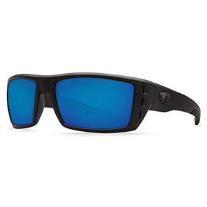 Costa Del Mar Rafael Sunglasses Blackout/Blue Mirror 580Glass