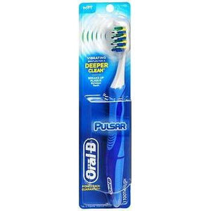 Oral-B Pulsar Toothbrush Soft, Pack of 3