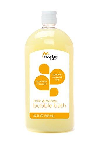 Mountain Falls Bubble Bath with Essential Oils, Milk and Honey, 32 Fluid Ounce