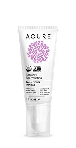 Acure Radically Rejuvenating Facial Toner, 3 Fluid Ounces (Packaging May Vary)