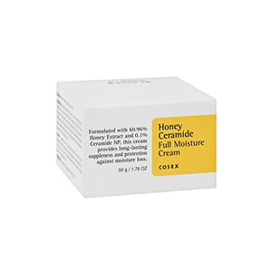 COSRX Honey Ceramide Full Moisture Cream, 50ml, Daily Moisturizer for Dry Skin