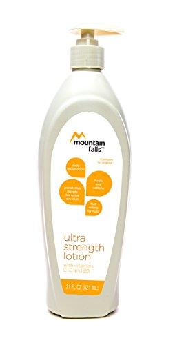 Mountain Falls Daily Moisturizer for Extra Dry Skin, Ultra Strength Lotion with Vitamins C, E, and B5, Pump Bottle, Compare to Jergens, 21 Fluid Ounce