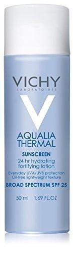 Vichy Aqualia Thermal 24-Hour Moisturizer with SPF 25, 1.69 Fl. Oz.
