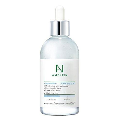 [AMPLE:N] Hyaluron Shot Ampoule 3.38 fl. oz. (100ml) - Moisturizing Hyluronic Acid Ampoule/Brightening∙Wrinkle Care Function