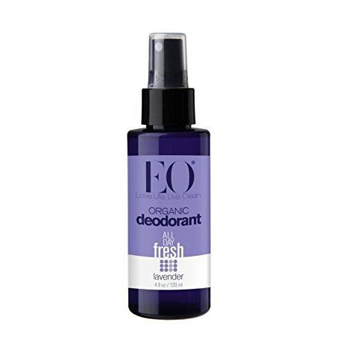 Eo Organic Deodorant Spray, Lavender, 4 Fluid Ounce ( 2-Pack) Beauty & Health EO Brands