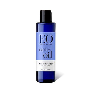 EO Botanical Body Oil, French Lavender, Massage and Moisturize, 8 Fluid Ounce