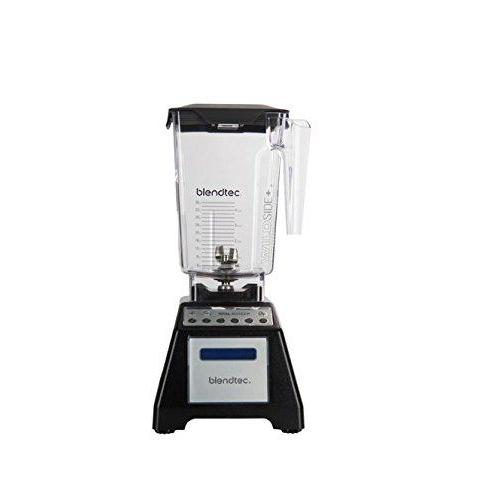 Blendtec Total Blender Classic with WildSide+ Jar, Black (Certified Refurbished) Kitchen & Dining Blendtec