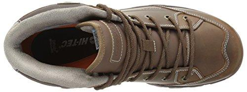 Hi-Tec Men's OX Discovery Mid I Waterproof Hiking Boot, Brown, 9.5 D US