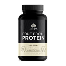 Ancient Nutrition Bone Broth Protein,180 Capsules — All Natural On-the-Go Protein Capsules by Ancient Nutrition — Joint Comfort, Flexibility and Cartilage Health
