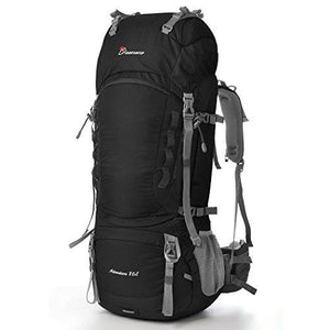 31a4099599 Mountaintop 80L Outdoor Sport Water-resistant Internal Frame Backpack  Hiking Backpack Backpacking Trekking Bag with