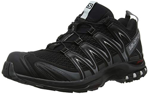 Salomon Men's XA PRO 3D Trail Running Shoe, Black, 10 Wide US