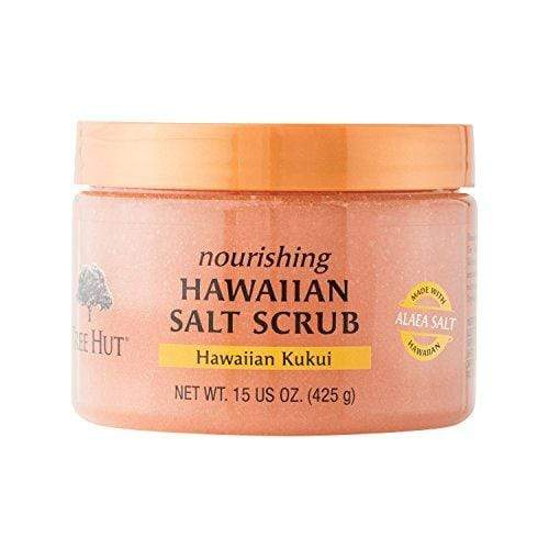 Tree Hut Salt Scrub, Hawaiian Kukui, 15 Ounce (Pack of 3)