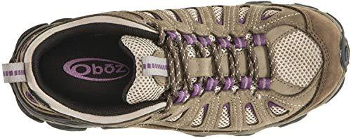 Oboz Women's Sawtooth Low Bdry Hiking Shoe,Violet,9 M US