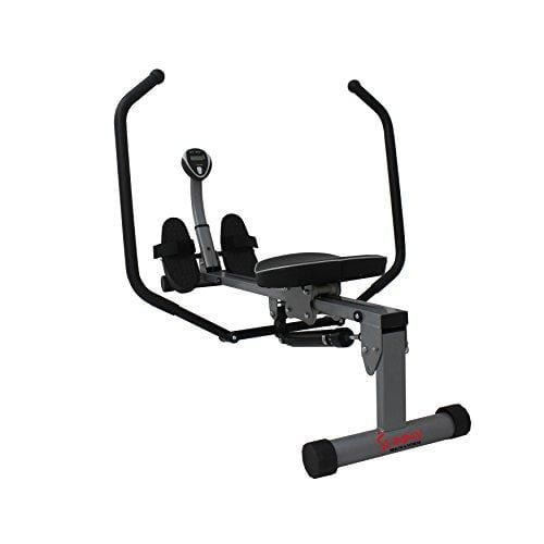 Sunny Health & Fitness SF-RW1410 Rowing Machine Rower with Full Motion Arms and LCD Monitor Sport & Recreation Sunny Health & Fitness