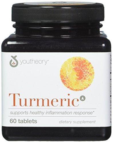 YOUTHEORY Turmeric Advanced 60 Count, 0.02 Pound