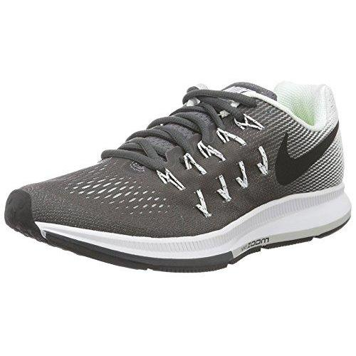 Nike Womens Air Zoom Pegasus 33 Dark Grey/Black/White Running Shoe 8.5 Women US Shoes for Women NIKE