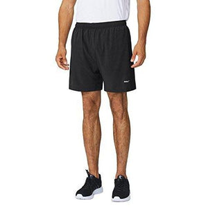 "Baleaf Men's Woven 5"" Running Shorts Black Size M"