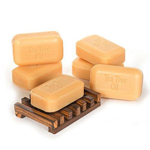 Soap Works Tea Tree Oil Soap Bar, 6-Count