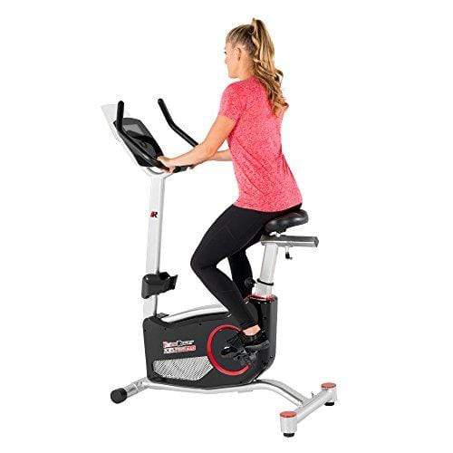 X Class 310 Bluetooth Smart Technology Upright Exercise Bike with 20 Computer Workout Programs