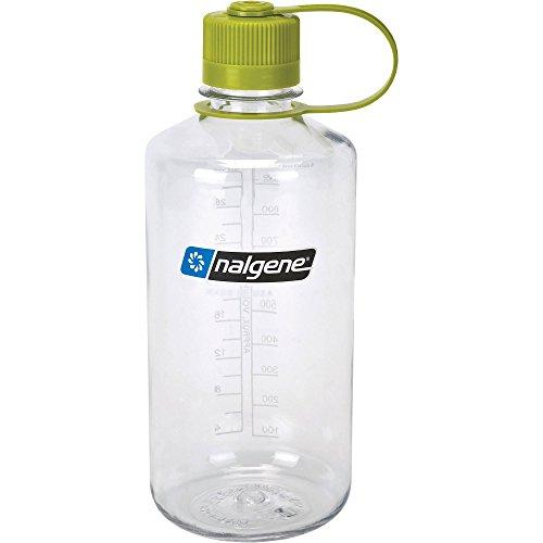 Nalgene Tritan 32-Ounce Narrow Mouth BPA-Free Water Bottle, Clear Sport & Recreation Nalgene
