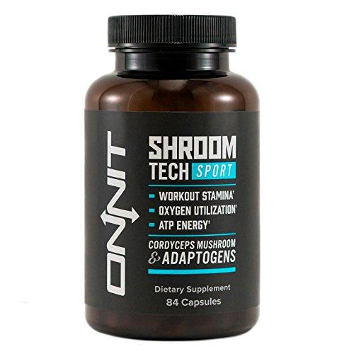 Shroom Tech Sport: Preworkout Supplement with Cordyceps Mushroom