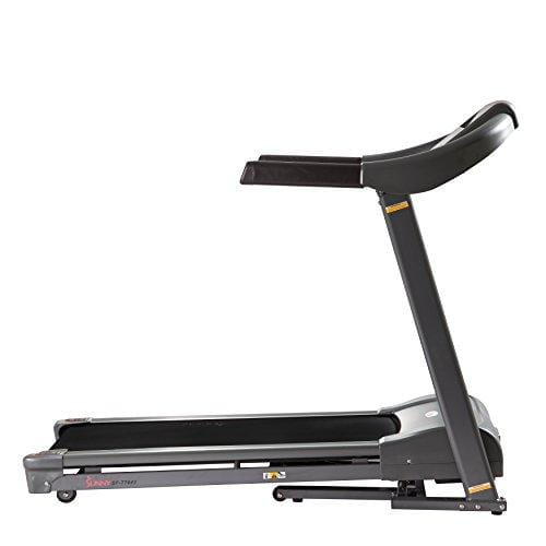 Sunny Health & Fitness T7643 Heavy Duty Walking Treadmill with 350 lb High Weight Capacity, Wide Walking Area and Folding for Storage Sport & Recreation Sunny Health & Fitness