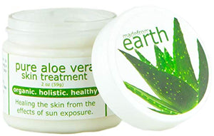 Pure Aloe Vera Treatment, w/Organic Coconut, Organic Olive Oil & Vitamin E