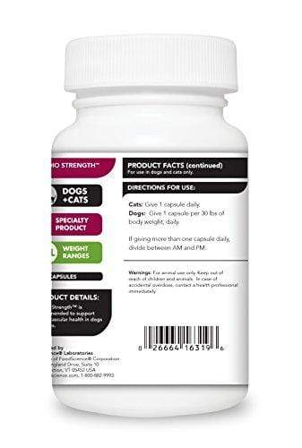 VetriScience Laboratories, Cardio Strength Heart Support Formula, 90 Capsules Animal Wellness VetriScience Laboratories
