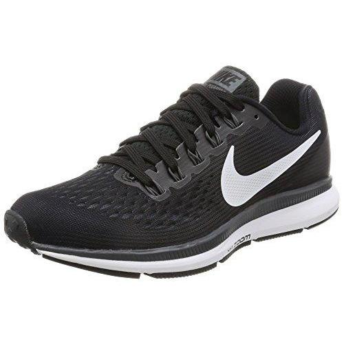 Nike Womens Air Zoom Pegasus 34 Black/White/Dark Grey/Anthracite Running Shoes (9) Shoes for Women NIKE