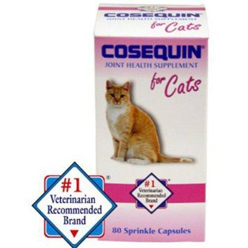 Cosequin for Cats 80 Sprinkle Capsules Feline Cat Joint Health Supplement Animal Wellness Nutramax