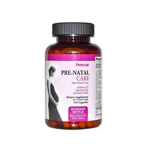 Twinlab Pre-Natal Care Multi Vitamin Capsules, 144 Count