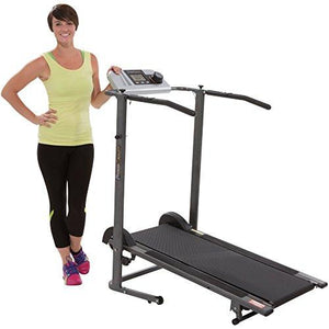 TR3000 Maximum Weight Capacity Manual Treadmill with 'Pacer Control' & Heart Rate System