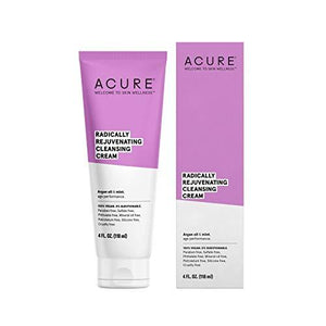 ACURE Radically Rejuvenating Cleansing Cream, 4 Fl. Oz. (Packaging May Vary)