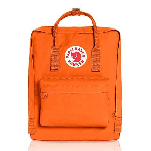 Fjallraven - Kanken Classic Pack, Heritage and Responsibility Since 1960, One Size,Burnt Orange