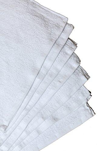 "Hotel-Spa-Pool-Gym Cotton Hair & Bath Towel - 6 Pack, White, Super Soft, Easy Care, Ringspun Cotton for Maximum Softness and Absorbency (22""x 44"") By Utopia Towel"