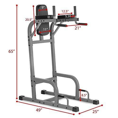 XMark Vertical Knee Raise with Dip Station XM-4437.1 Sport & Recreation XMark Fitness