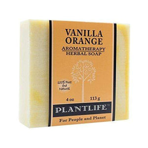 Vanilla Orange 100% Pure & Natural Aromatherapy Herbal Soap- 4 oz (113g)