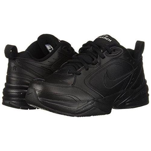 Nike Air Monarch IV (4E) - Black / Black, 12 4E US Shoes for Men NIKE