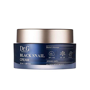 Dr.G Black Snail Cream 50ml/ 1.69 fl.oz. - Black Snail and Pearl Powder Premium Elasticity Care Cream