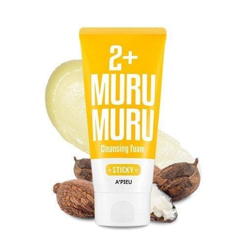 [A'PIEU] 2+ Cleansing Foam 130ml #02 Murumuru Butter