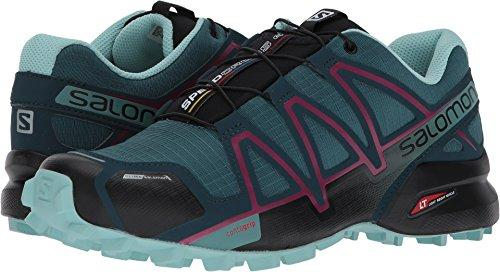 Salomon Women's Speedcross 4 CS W Mountaineering Boot, Mallard Blue, 10 M US