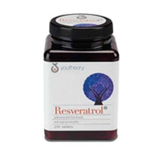 youtheory Resveratrol Advanced Anti-Aging Formula, 0.49 Pound ( Multi-Pack)