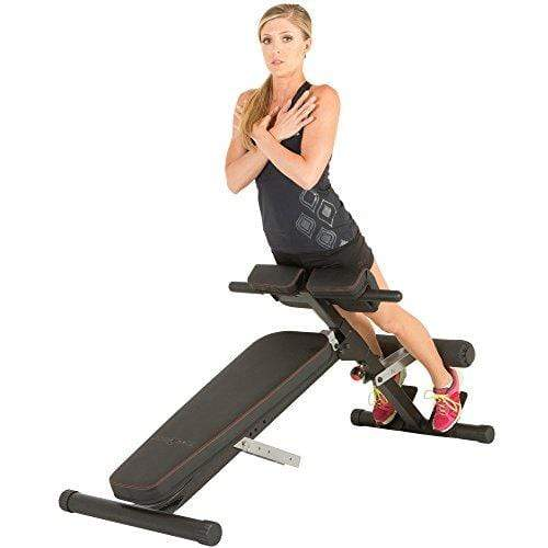 X-Class Light Commercial Multi-Workout Abdominal/Hyper Back Extension Bench