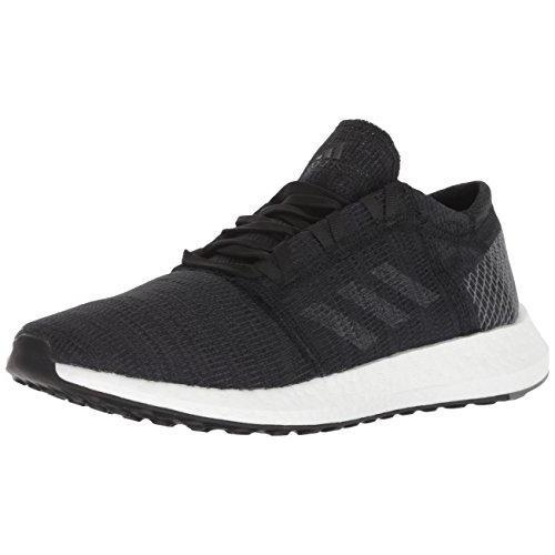 adidas Women's Pureboost Go Running Shoe, Black/Grey/Grey, 8.5 M US