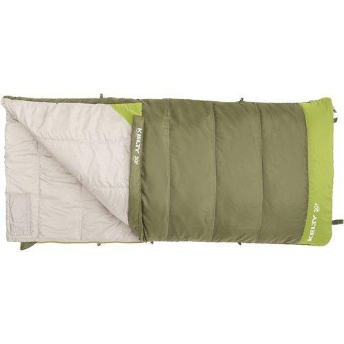 Kelty Boys Callisto Kids 30 Degree RH Sleeping Bag, Avocado/Spinach, Short